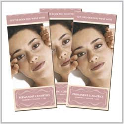PERMANENT COSMETIC BROCHURE - TYPE 2