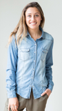 Anytime Denim Shirt