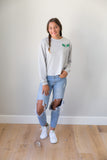 Lightweight sweatshirt , kale