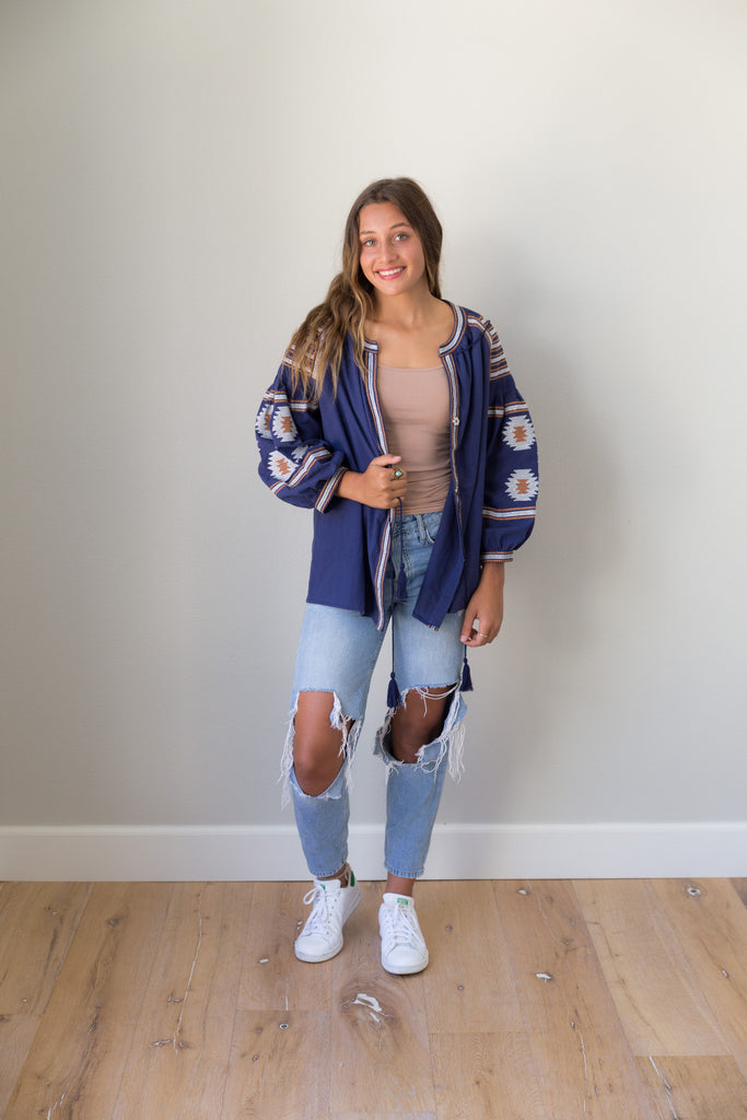 Topanga blouse/jacket