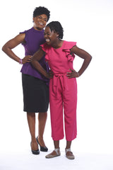 Mommy-Daughter Founders of Confidence and Inventors of GaBBY Bows Rozalynn and Gabby Goodwin
