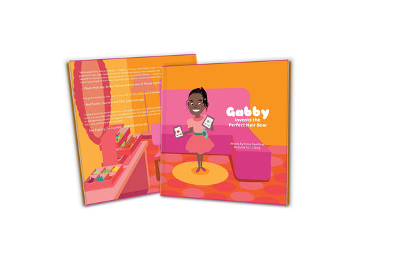 """Gabby Invents the Perfect Hair Bow"" Children's Book"