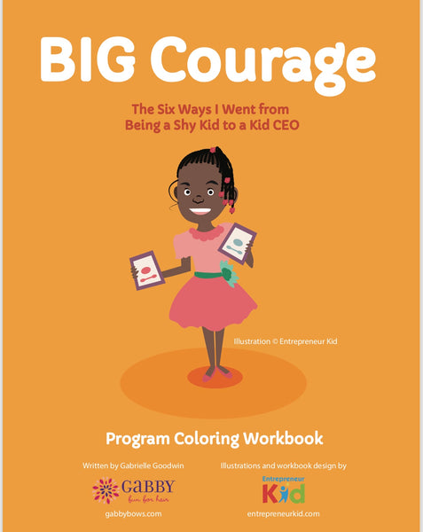 BIG Courage Leadership Training and Book Bundle for Kids