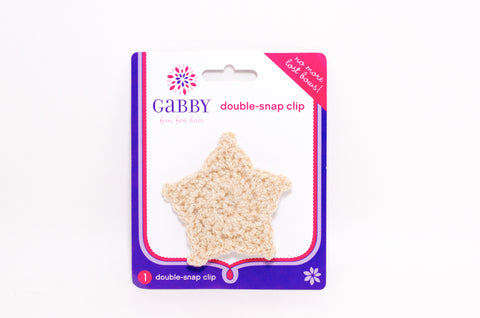 Double-Snap Clip - Star
