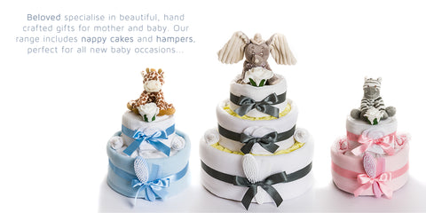 How to make a nappy cake