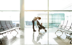 Parenting tips when flying with baby