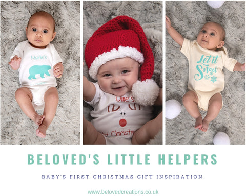 Personalised Christmas Baby Clothing