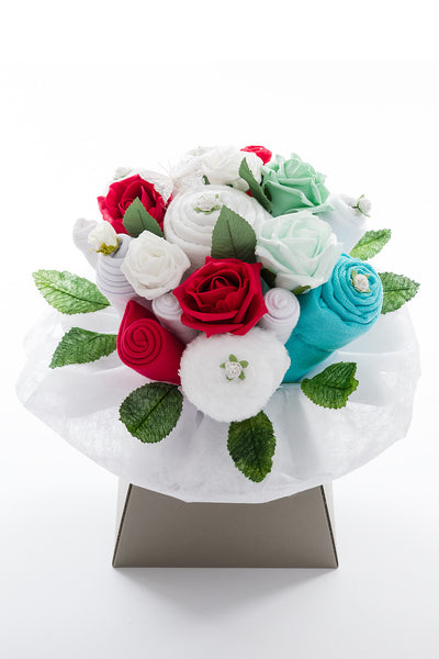 Winter Baby Clothes Bouquet