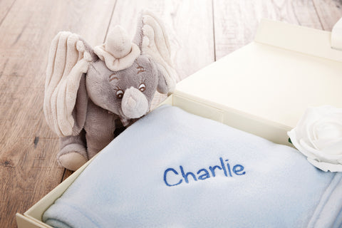 personalize a blanket