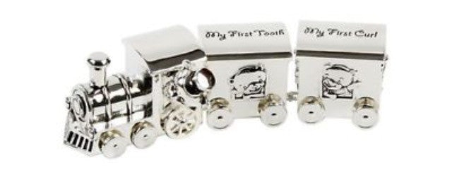 Baby's First Tooth and Curl Silver Plated Gifts