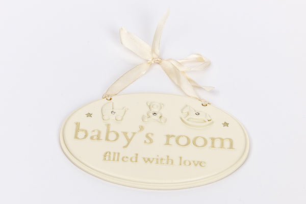 Baby's Room Plaque
