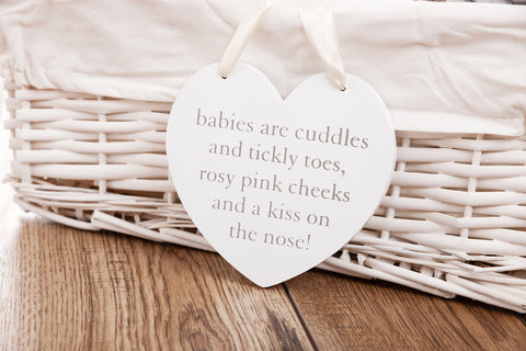 Babies are Cuddles Plaque