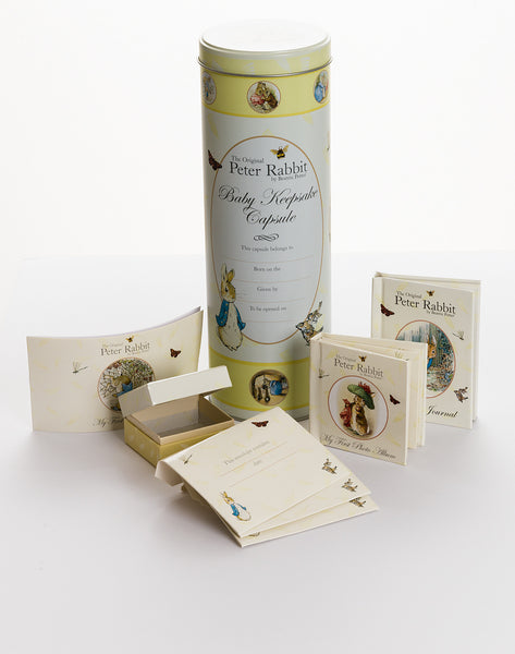 Peter Rabbit keepsake capsule
