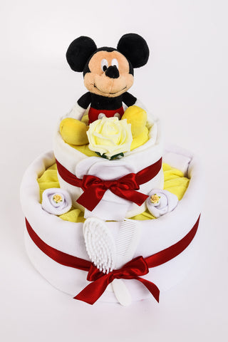 Mickey Mouse Nappy Cake