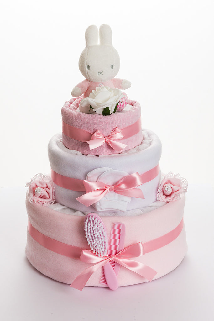 Miffy nappy cake