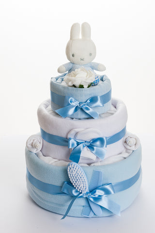 Miffy 3 tier nappy cake