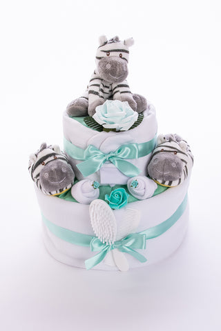Neutral nappy cakes