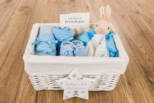 Peter Rabbit Christmas Baby Hamper