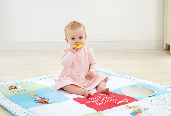 Peter Rabbit Tummy Time Activity Playmat