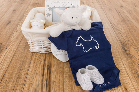 Scottish Baby Gift Basket