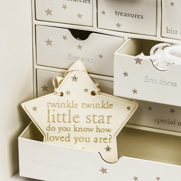 Twinkle Twinkle Star Plaque