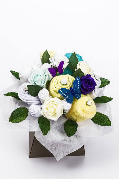 Baby Clothes Bouquet - Neutral