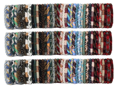 100 Random Mix Nepal bracelets (SET OF 100)