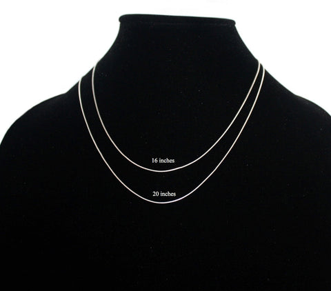 sterling silver chain necklace S2 - Yaslai - 1