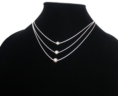 925 sterling silver necklace S4 - Yaslai - 1