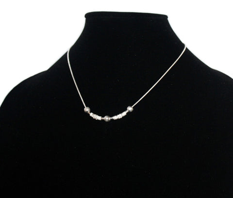 925 sterling silver necklace Silver chain S5 - Yaslai - 1