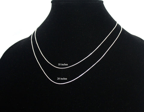 925 sterling silver necklace Silver chain S7 - Yaslai - 1
