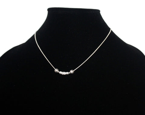 Sterling silver chain necklace S3 - Yaslai - 1