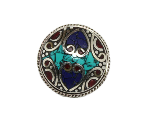 Adjustable Lapis ring - Yaslai - 1