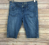 Hudson Bermuda Denim Shorts (Size: 28)