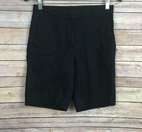 Theory Black Shorts (Size: 4)