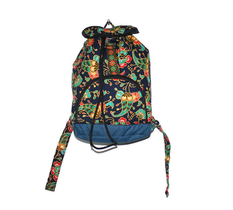 Small size backpack handmade Nepal bag - Yaslai - 1