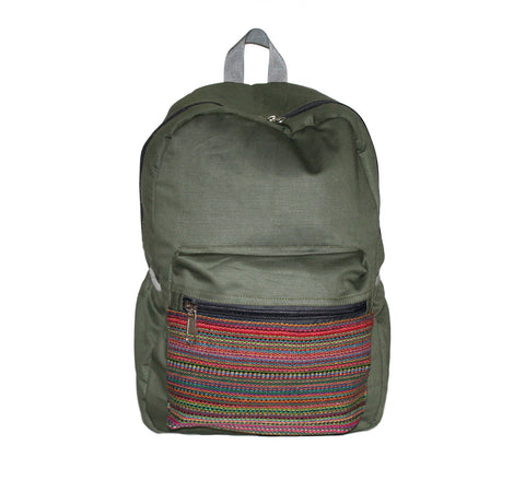 Handmade backpack from Nepal - Yaslai - 1