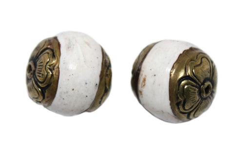 Conch Shell Beads - Yaslai - 1