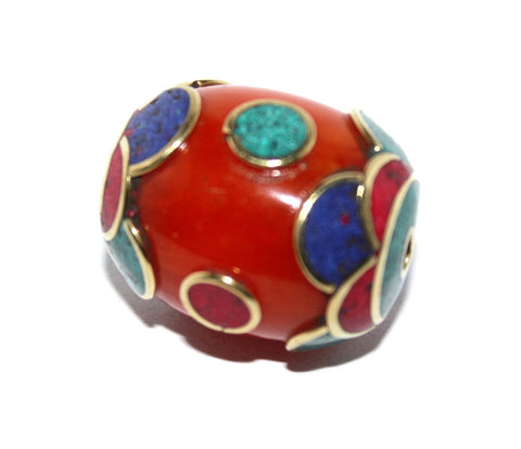Amber Resin Bead - Yaslai - 1