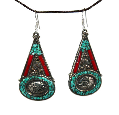 turquoise Earrings - Yaslai - 1