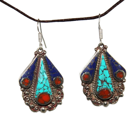 Lapis Earrings - Yaslai - 1