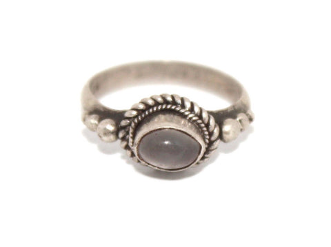 Moonstone Sterling Silver Ring - Yaslai - 1