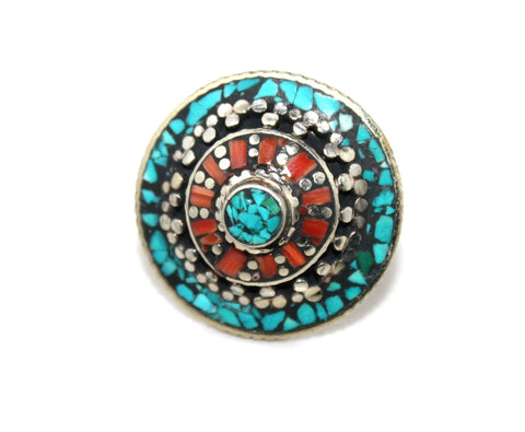 Circle Coral ring - Yaslai - 1