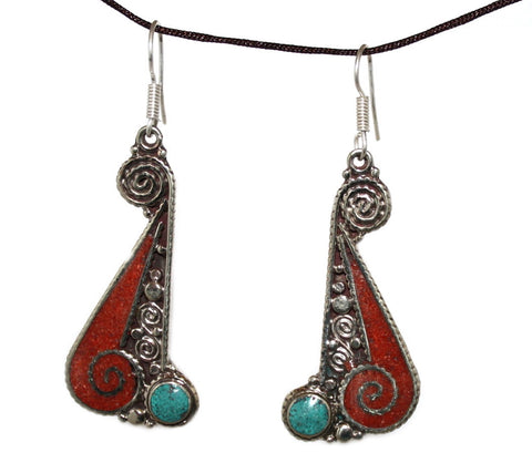 long coral Earring - Yaslai - 1