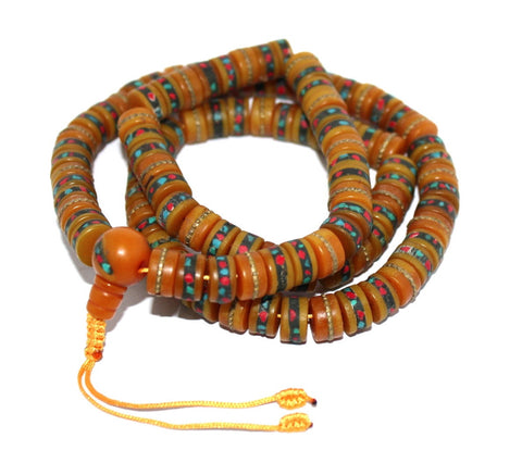 Amber Prayer beads Mala - Yaslai - 1