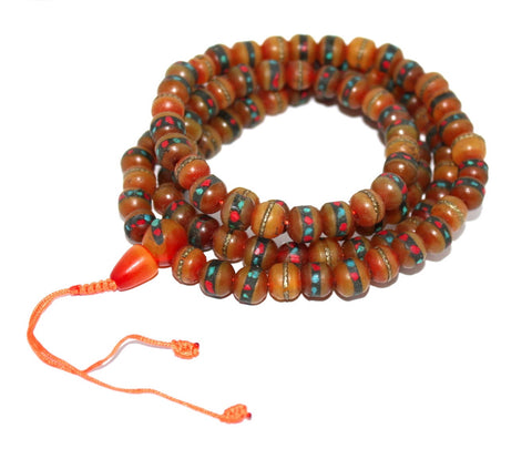 Amber Prayer beads - Yaslai - 1