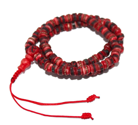 Yak Bone meditation prayer beads - Yaslai - 1