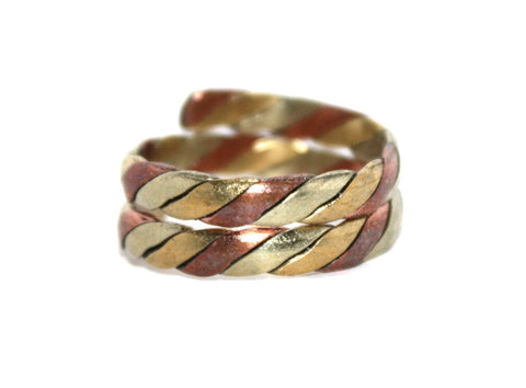 Adjustable copper ring - Yaslai - 1