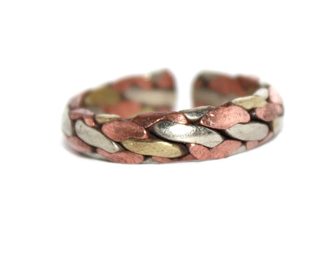 Medicinal Adjustable copper ring - Yaslai - 1