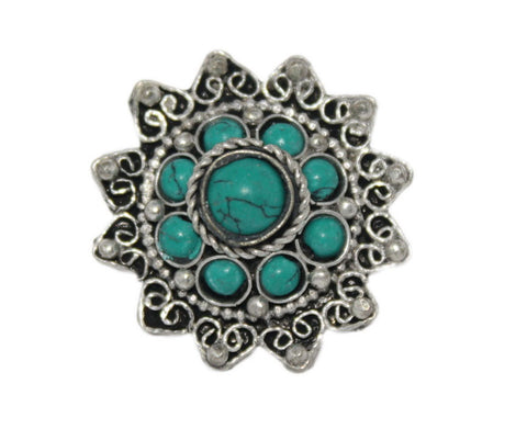 Adjustable Ring Turquoise Ring Handmade Ring Tibetan Ring Gypsy Ring Tribal Ring RB261